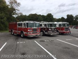 Police Station open house. Standing by with Purchase Rescue 30, Harrison Engine 10